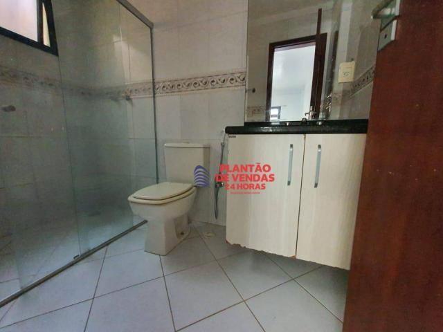 Apartamento térreo com área privativa, piscina e churrasqueira 3 quartos - Foto 20