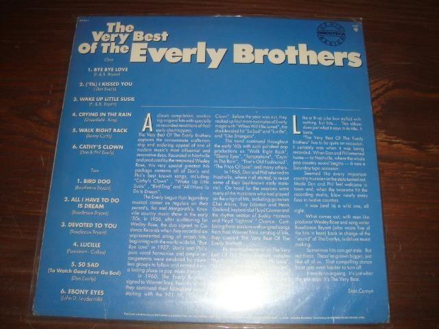 Everly Brothers, Lp vinil usado em raro estado de conservação - Foto 2