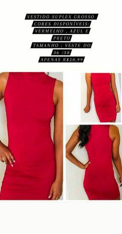 Vendo vestidos novos por apenas R$ 20,00  - Foto 2