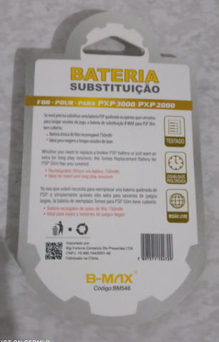 Bateria de PSP nova lacrada - Foto 2