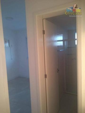 Apartamento com 3 dormitórios para alugar, 100 m² por R$ 1.500,00/mês - Costazul - Rio das - Foto 7