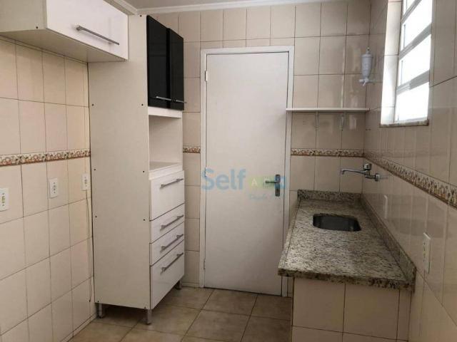 Apartamento com 1 dormitório para alugar, 45 m² - Icaraí - Niterói/RJ - Foto 9
