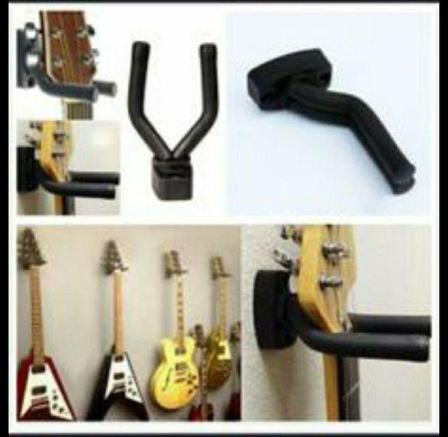 Suporte para instrumento de corda violão guitarra ou baixo muito top!!!!! - Foto 4