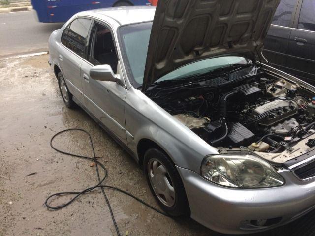 Honda Civic 1999 2000 motor 1.6 16v venda Peças