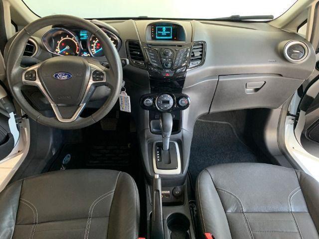 Ford Fiesta Hatch Titanium 1.6 automático 2015, apenas 45.000km, Único dono - Foto 16