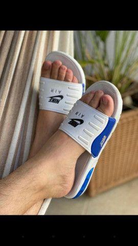 Chinelos Conforts da Nike, com amortecedores 60.00rs 2 por 110.00rs - Foto 2