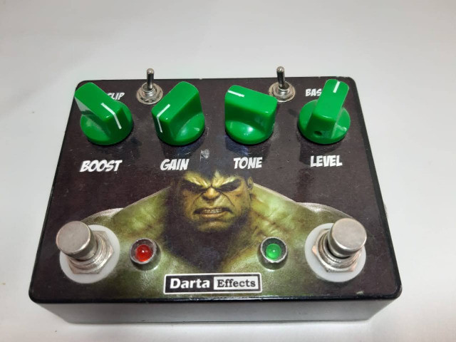 Pedal Overdrive TS8 style - Foto 4