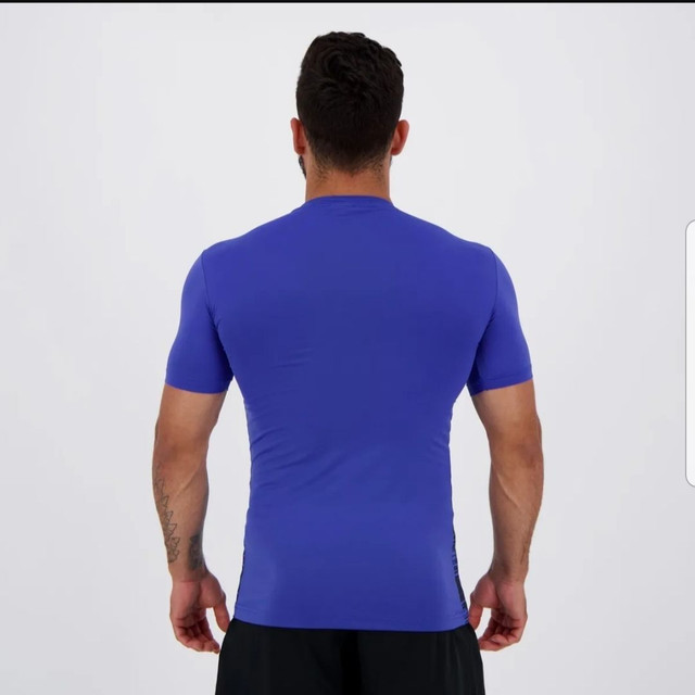 Camiseta térmica Kappa azul - Foto 2