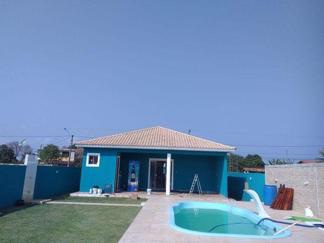 Casa de 3 quartos sendo 1 suíte com piscina no Jardim Atlântico em Maricá - RJ - Foto 10