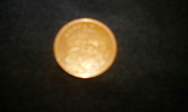 Moeda de 1 centavo bronze