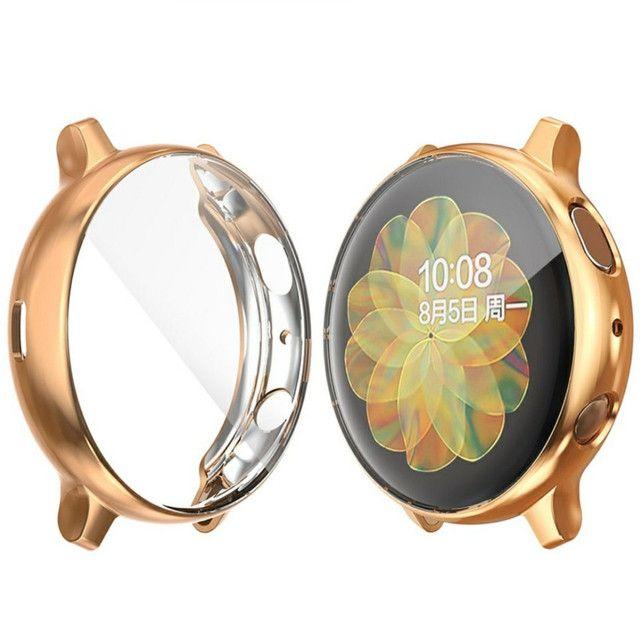 Case de proteção relógio Galaxy Watch Active 2 - Foto 2