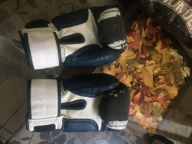 Luvas de Boxe, Bolsa para itens e atadura - Foto 2