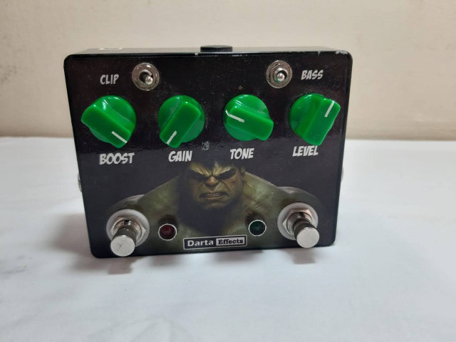 Pedal Overdrive TS8 style - Foto 3