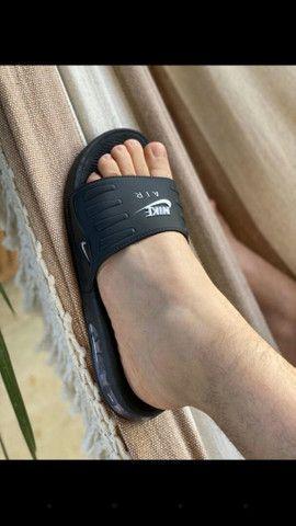 Chinelos Conforts da Nike, com amortecedores 60.00rs 2 por 110.00rs - Foto 3