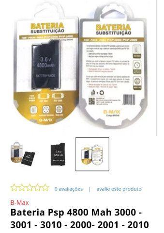 Bateria de PSP nova lacrada - Foto 4