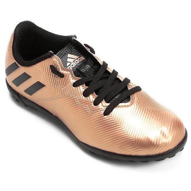 Promoção*Chuteira Society Adidas Messi 16.4 TF (nº 34-NOVO) em Uberaba, MG