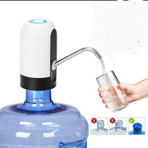 Bomba d'água extrator automático para garrafão - Foto 2