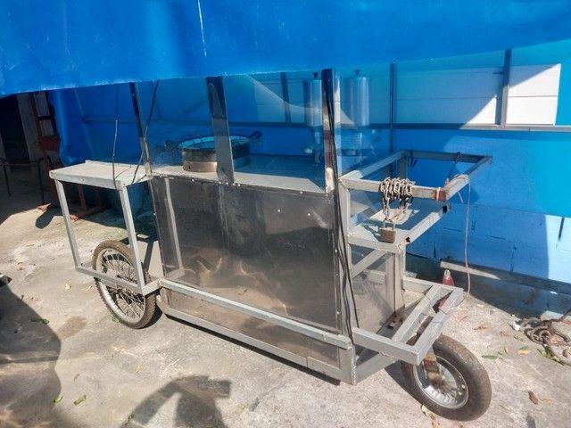 Vendo carrinho completo para churros - Foto 4