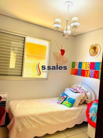 Destaque!! Belíssimo Apartamento em Águas Claras - 3 quartos - Lazer Completo - Foto 16