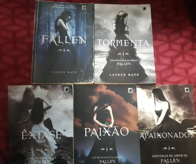 Saga de livros Fallen - Foto 4