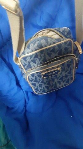 Bolsa MK Azul jeans edição limitada original