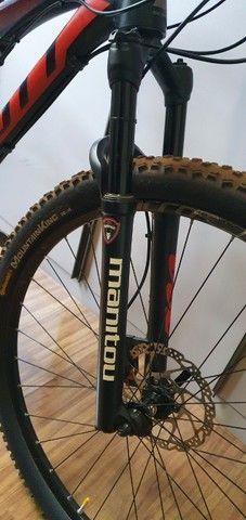 Bicicleta Scott Spark 960 - M ano 2014 shimano SLX 11v trava remota suspensões, alumínio. - Foto 2