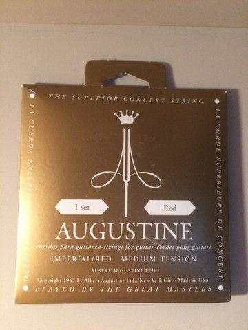 Cordas de violão savarez 520 R e Albert Augustine