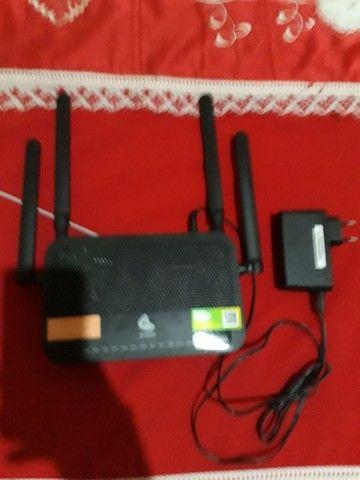 Roteador com 4 antenas da oi - Foto 5