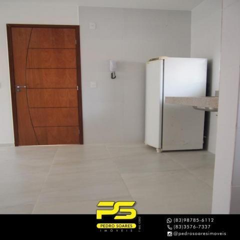 (ALUGO) Apartamento com 2 dormitórios para alugar, 67 m² por R$ 2.100/mês - Cabo Branco -  - Foto 9