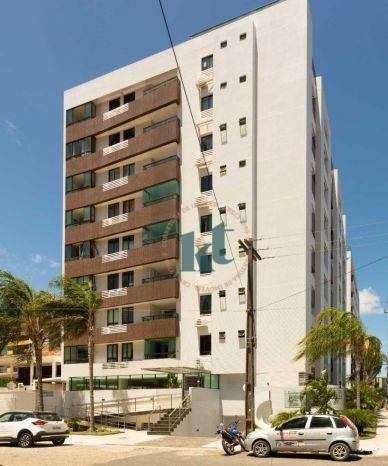 Apartamento com 2 dormitórios à venda, 59 m² por R$ 420.000 - Cabo Branco - João Pessoa/PB