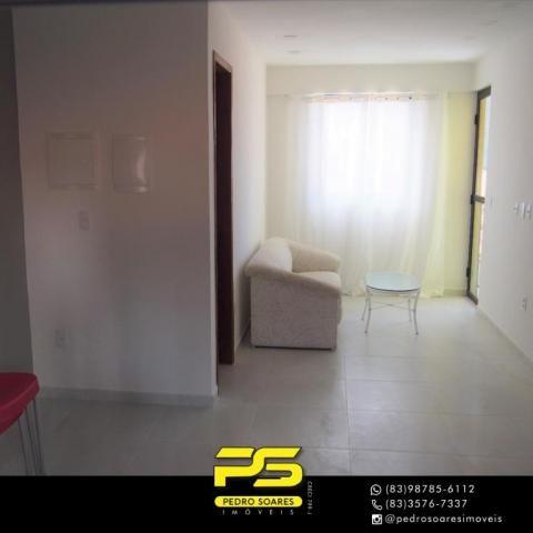 (ALUGO) Apartamento com 2 dormitórios para alugar, 67 m² por R$ 2.100/mês - Cabo Branco -  - Foto 8