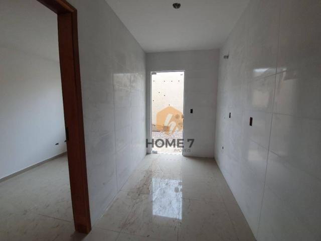 Sobrado à venda, 85 m² por R$ 319.900,00 - Sítio Cercado - Curitiba/PR - Foto 8