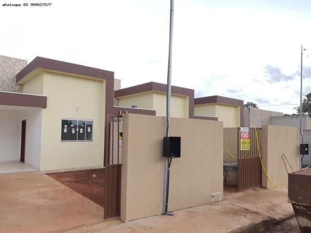 Casa para Venda em Várzea Grande, Jardim Eldorado, 2 dormitórios, 1 banheiro, 2 vagas - Foto 14