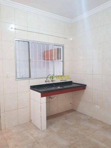 Casa com 2 dormitórios para alugar, 65 m² por R$ 950,00/mês - Jardim Egle - São Paulo/SP - Foto 5
