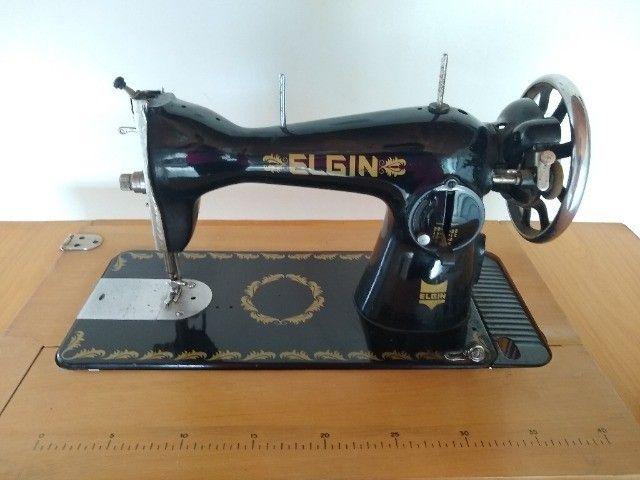 Maquina de costura antiga  - Foto 5