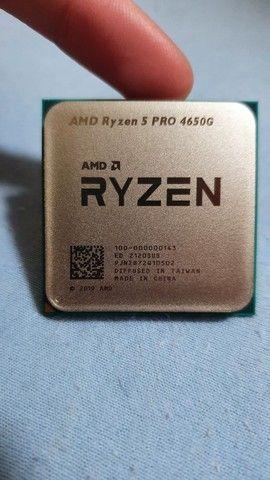Ryzen 5 Pro 4650g Novo *1500 para retirada RJ* - Foto 3