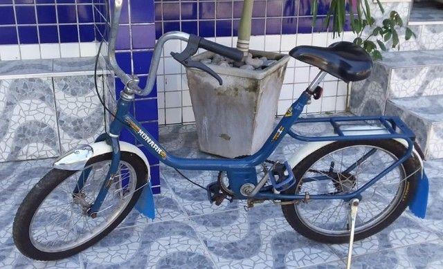 Bicicleta Monark Monareta Antiga aro 20 - Foto 3