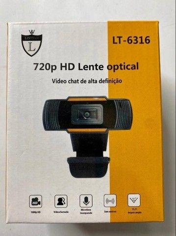 Webcam P/notebook- Pc Câmera Mini Packing 720p Com Microfone - Foto 3