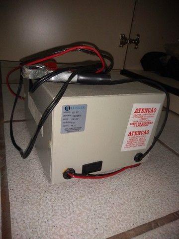 Carregador de baterias marca LUX-LUF - Foto 3