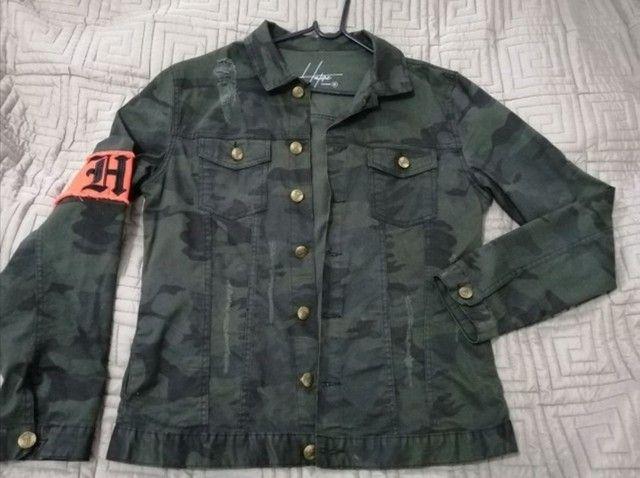 Jaqueta masculina Haterz Clothing Tam G