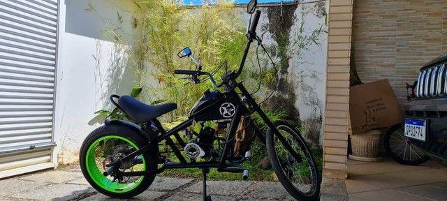 Moto Mini Chopper (Harley) Motorizada - Foto 3
