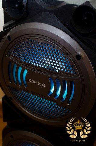 Caixa Super Potente de 1000w (KTS 1054 Bluetooth) - Frete Grátis! - Foto 3