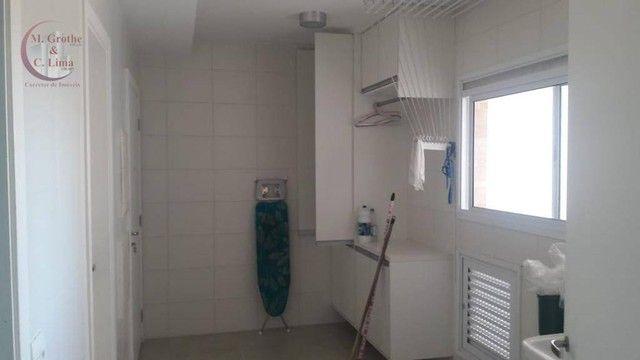 Apartamento com 4 dormitórios para alugar, 245 m² por R$ 6.500,00/mês - Jardim das Colinas - Foto 13