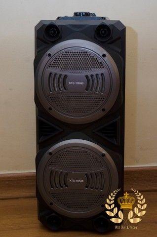 Caixa Bluetooth, Rádio FM (1000w) KTS 1054 Wireless Frete Grátis! - Foto 3