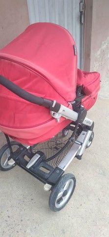 Vendo esse lindo carrinho de bebe - Foto 3
