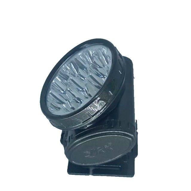 Lanterna De Cabeça 13 Leds Recarregável Com Faixa - Foto 2