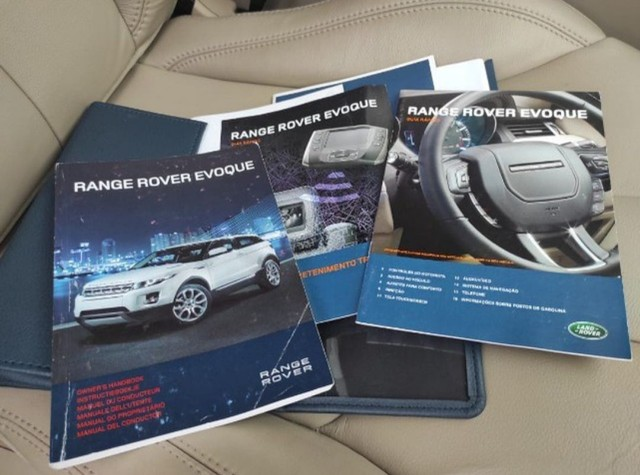 Range Rover Evoque Pure 2013 Interna Caramelo - Foto 12