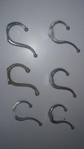 Cabideiros fixos de parede - Foto 3