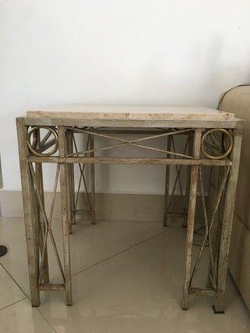 Mesa lateral em mármore - Foto 2