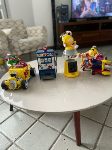 Brinquedos colecionáveis da M&M - Foto 6